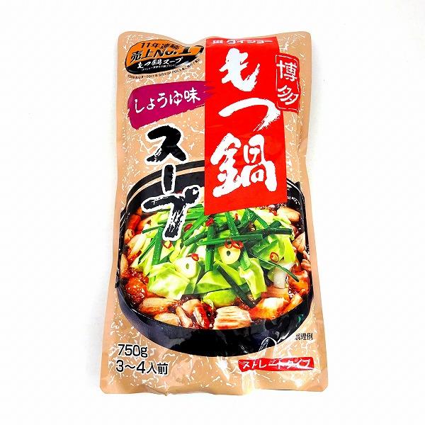 ダイショー 博多もつ鍋スープ しょうゆ味 750g ネット
